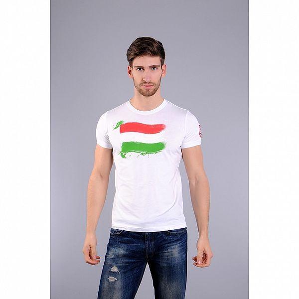 Pánská bílé tričko Giorgio di Mare s potiskem
