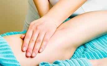 Manuální lymfatická masáž celých nohou, včetně ref...