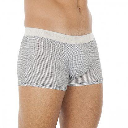 Pánske čierno-biele kockované boxerky Antonio Miro