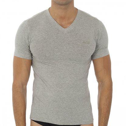 Pánske šedé tričko s krátkým rukávom Antonio Miro