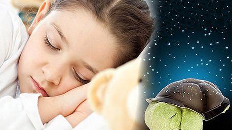 Magická svietiaca korytnačka len za 11,90 € vrátanie poštovného. A Vaše detičky môžu pokojne snívať.