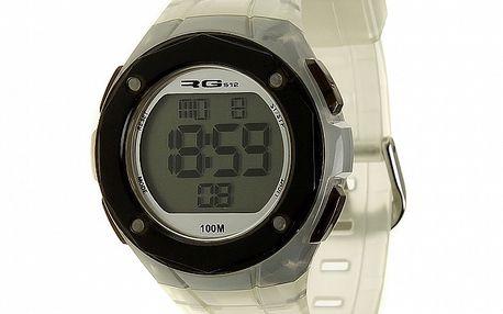 Unisexové biele digitálne hodinky RG512
