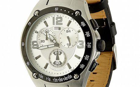 Unisexové strieborno-šedé analogové hodinky RG512