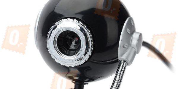 Webkamera pro notebook či PC - černostříbrná a poštovné ZDARMA! - 102