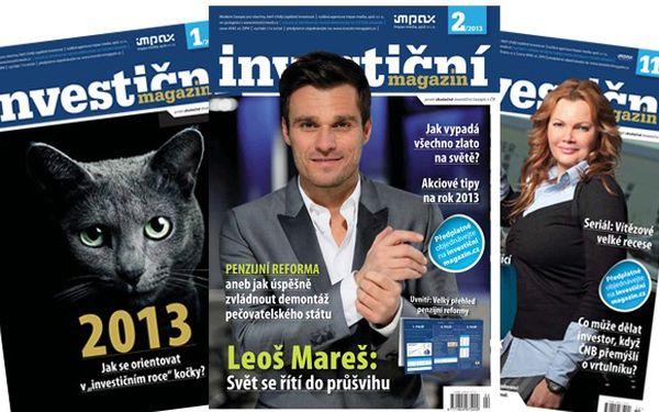 Předplatné investičního magazínu s 40% slevou