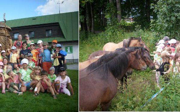 Program pro děti s hlídáním na letní dovolené v ČR s CK Mimísek.