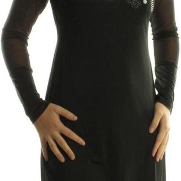 Dámské šaty My Design Paris černé zdobené