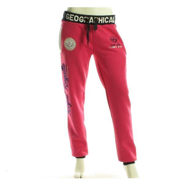 Sportovní kalhoty Geographical Norway Malibu růžové