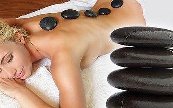 45 minútová masáž lávovými kameňmi