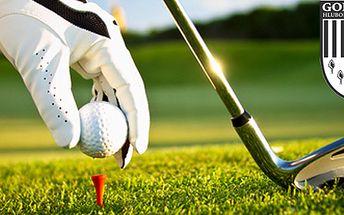 Golfový kurz v Golf&Spa resortu Hluboká