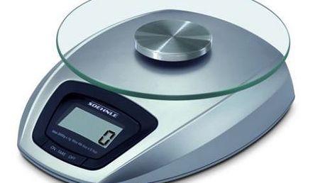 Digitální kuchyňská váha s odnímatelnou měřící plochu z bezpečnostního skla Soehnle 65840 Siena