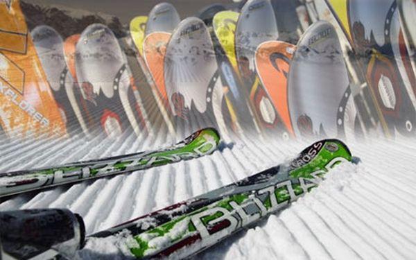 Jen 149 Kč za celodenní zapůjčení lyží či snowboardu nebo kompletní ski servis na jakékoli pobočce POMI SKICENTRUM!