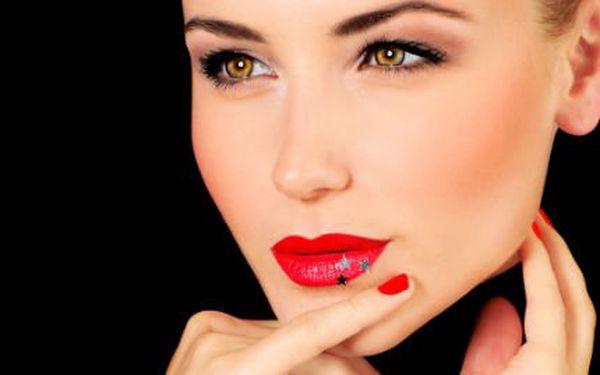 Permanentní make-up jedné vybrané partie.