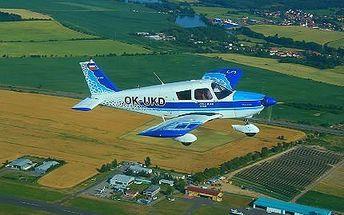 Vyhlídkový let nad Karlštejnem či Orlíkem!