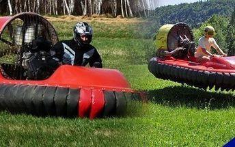 Adrenalinová jízda na originálním vznášedle - zážitek, na který nezapomenete - za skvělých 999Kč! 30 minut zábavy na tomto jedinečném stroji