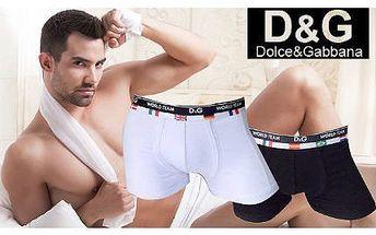 Boxerky Dolce&Gabbana i s poštovným!
