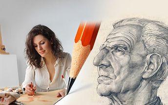 Víkendový KURZ KRESLENÍ pravou mozkovou hemisférou za báječných 1 140 Kč! Naučit se kreslit je především naučit se správně vidět! Kreslit portréty budete již ZA DVA DNY!