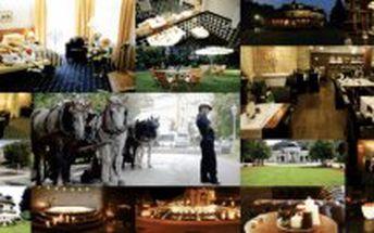 5 denní LÉČEBNÝ pobyt pro DVA v Golf hotel Morris Mariánské Lázně platnost do 13.12.2013