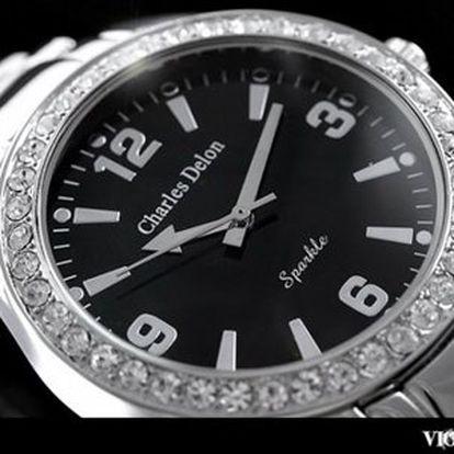 Dámské elegantní hodinky Charles Delon!