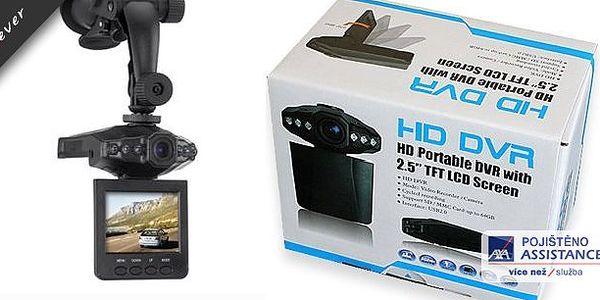 HD Autokamera s DVR.Používáním auto kamery můžete přispět k vetší bezpečnosti na cestách