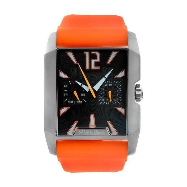 Pánské hodinky Police oranžové hranaté