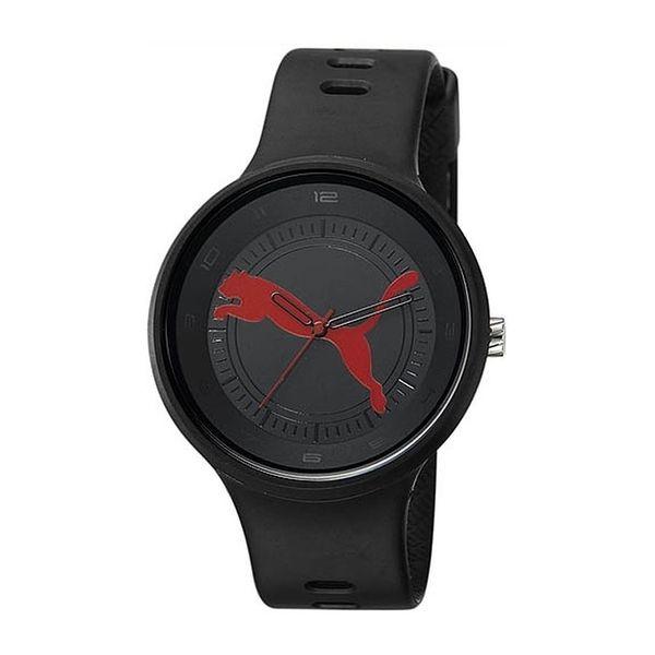 Dámské hodinky Puma černé červené logo