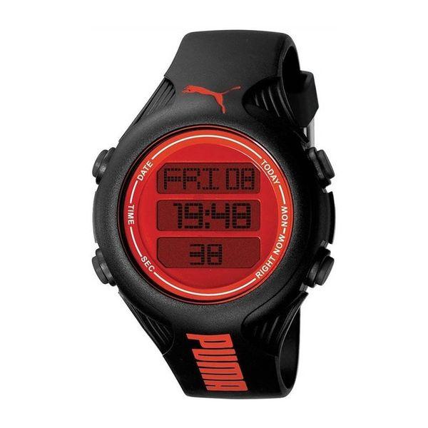 Pánské hodinky Puma černo-červené