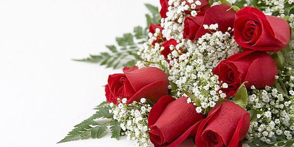 Kytice 9 krásných luxusních růží pro maminku i pro vaši milou