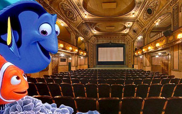 2 vstupenky na Hledá se Nemo 3D v Lucerně
