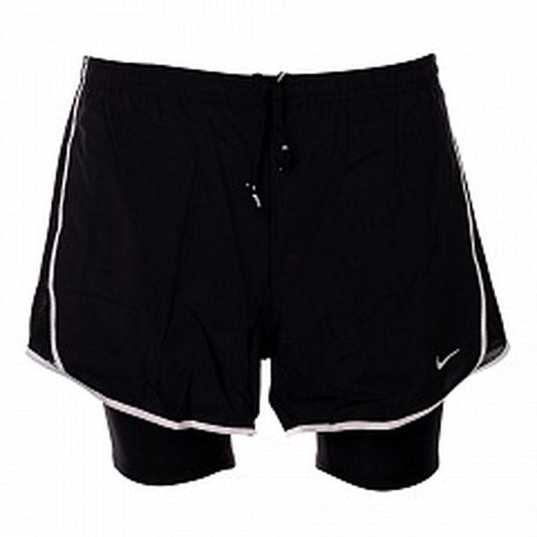 Dámske čierne šortky Nike