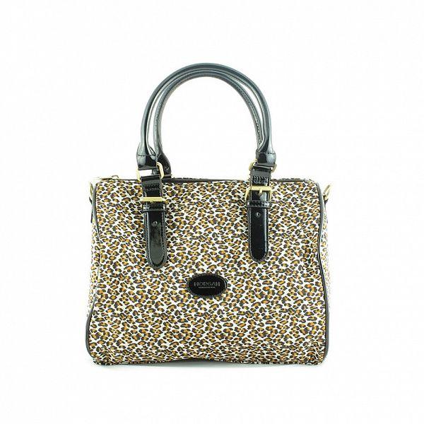 Dámská leopardí nylonová kabelka Morgan de Toi