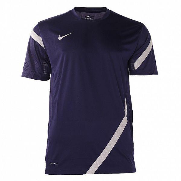 Pánské tmavě modré funkční tričko Nike