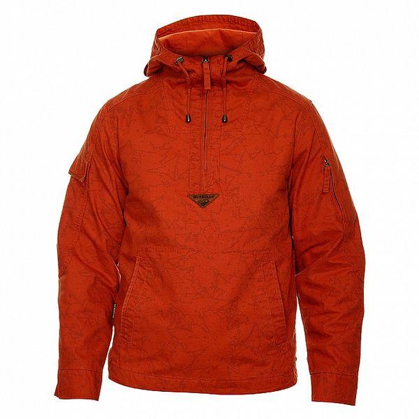 Pánská cihlově červená bunda Bushman