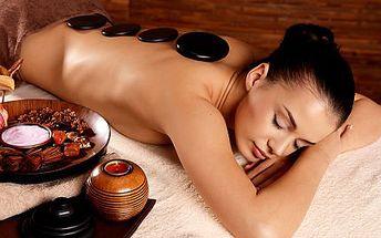 Anticelulitidová masáž s lávovými kameny a ozónový zábal!