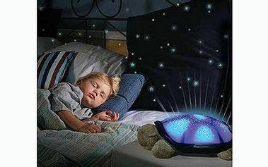 189 Kč za svítící magickou želvu, tedy za cenu, která nemá konkurenci! Tato magická želvička promění každý večer Váš pokoj i ložnici či jinou místnost v kouzelný ráj s nebem posetým hvězdami, ale hlavně jí budou milovat vaše děti!