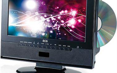 Praktická televize s DVD přehrávačem LCD TV s DVD ECG 10 DHD 182 DVB-T, Doplňky