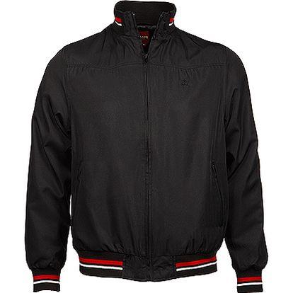 Pánská černá bunda Deffer Bomber Merc