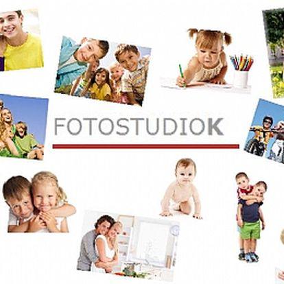 1 hod. fotografování v EXTERIÉRU - v parku, doma, na chatě apod.