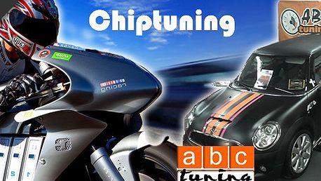 Kupon za 500 Kč na slevu 50%! Snižte spotřebu Vašeho auta (motorky) a zvyšte podstatně jeho výkon za polovinu původní ceny! Chiptuning = bezpečná úprava řídící jednotky Vašeho miláčka!
