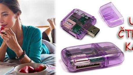 USB čtečka karet za 99Kč včetně poštovného!