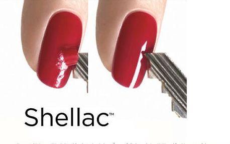 3x gelová modeláž nehtů metodou CND Shellac!