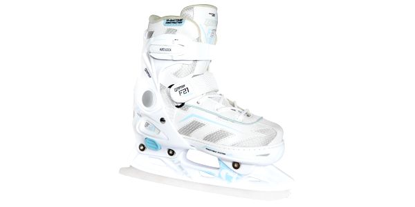 Dívčí brusle F21 Ice jsou vhodné pro rekreační bruslení. 2. jakost (jen poškozený obal)