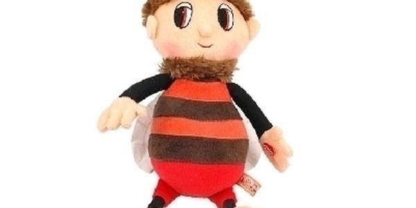 Plyšová postavička včelího medvídka broučka Brumdy kderý vašim dětem zahraje písničku z této pohádky !