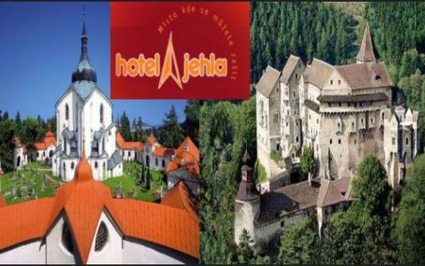 Ždár nad Sázavou: 3 dny s polopenzí a wellness v hotelu Jehla*** do 30.6.