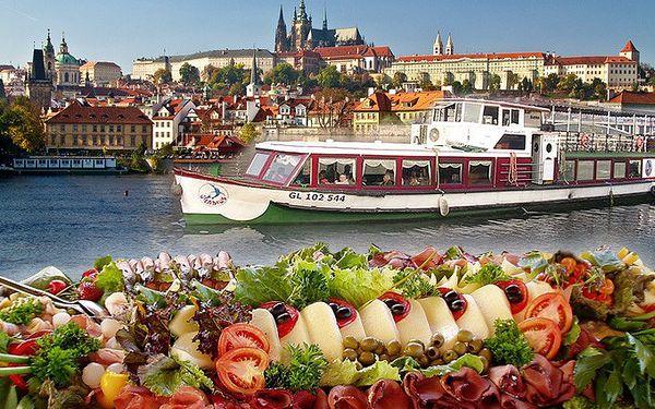 Nádherná plavba Prahou s neomezeným bufetem pro 1 osobu za skvělých 490 Kč