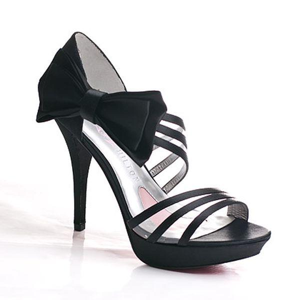 Černé boty Nila Paris Hilton