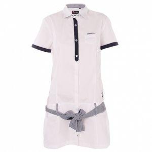 Dámské bílé košilové šaty 7camicie