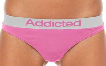 Dámské Tanga Addicted - Růžová