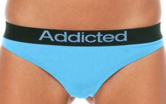 Dámské Tanga Addicted - Modrá