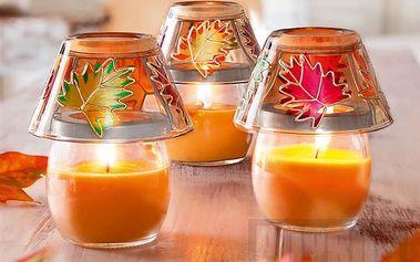 Vonné svíčky/lampičky Valencia se třemi uklidňujícími motivy
